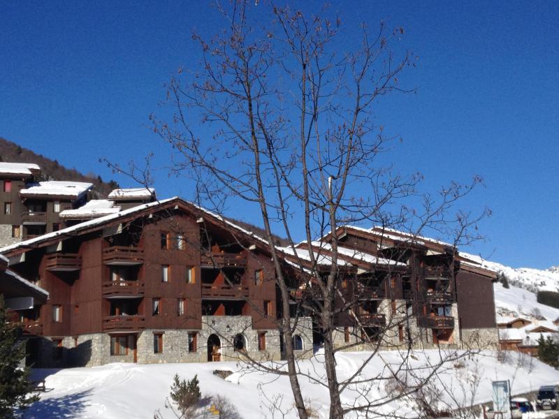 Ski verhuur Studio 4 personen (008) - Résidence le Fagot - Valmorel - Buiten winter