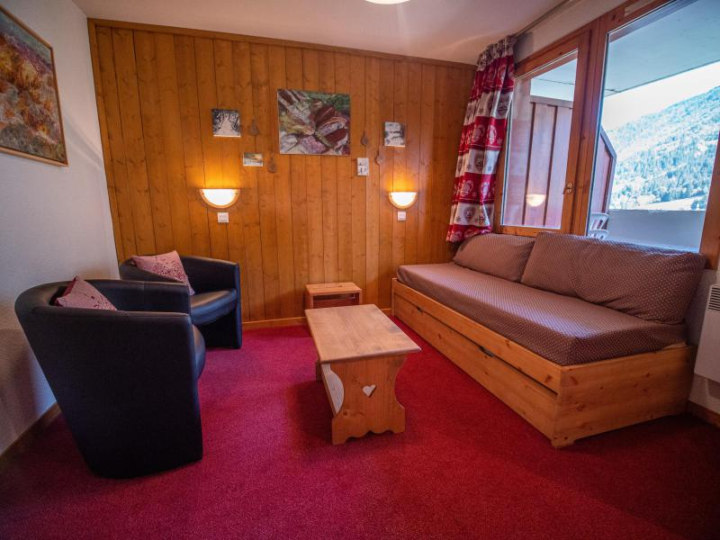 Ski verhuur Studio 4 personen (008) - Résidence le Fagot - Valmorel