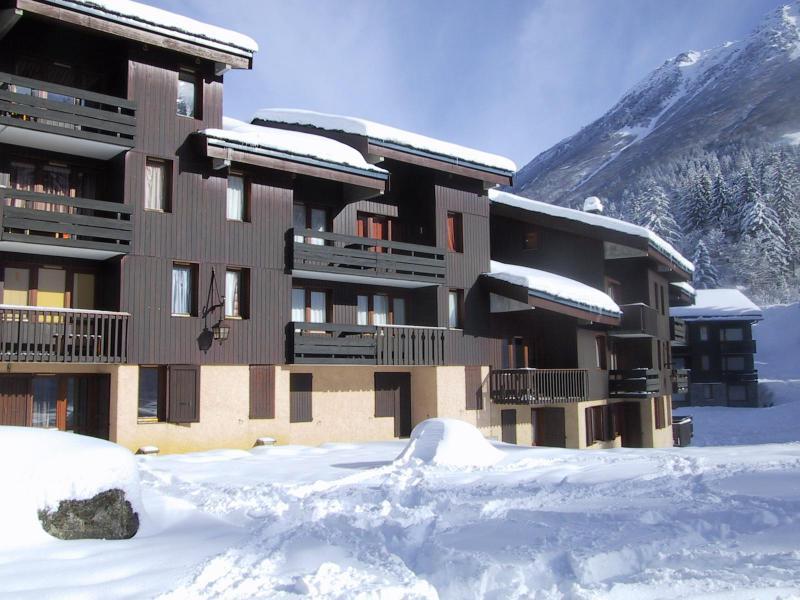 Location au ski Residence Le Gollet - Valmorel - Extérieur hiver