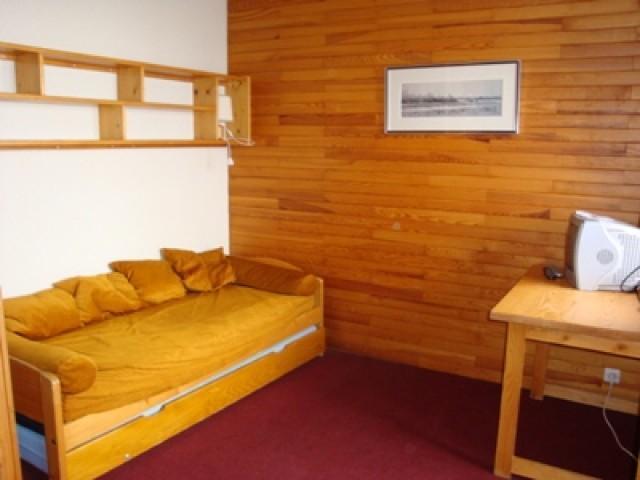 Location au ski Studio 3 personnes (062) - Residence Le Gollet - Valmorel - Canapé-lit