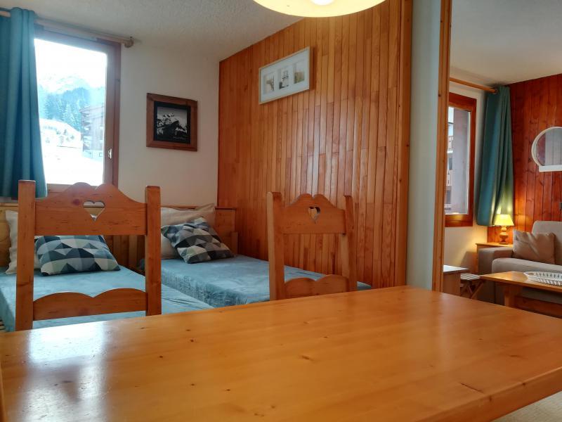 Ski verhuur Studio 4 personen (037) - Résidence le Gollet - Valmorel - Tafel