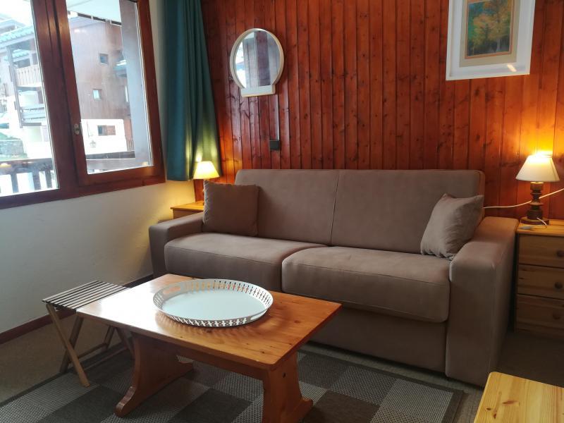Ski verhuur Studio 4 personen (037) - Résidence le Gollet - Valmorel - Woonkamer