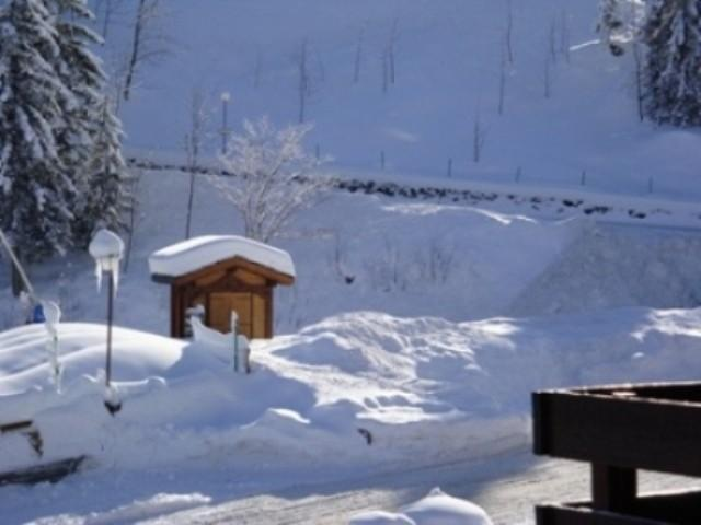 Ski verhuur Résidence le Morel - Valmorel - Buiten winter