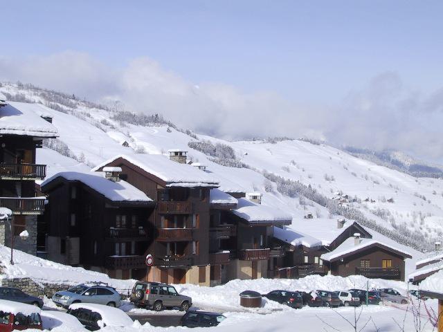 Location au ski Appartement 4 pièces 6 personnes (042) - Résidence le Morel - Valmorel - Extérieur hiver