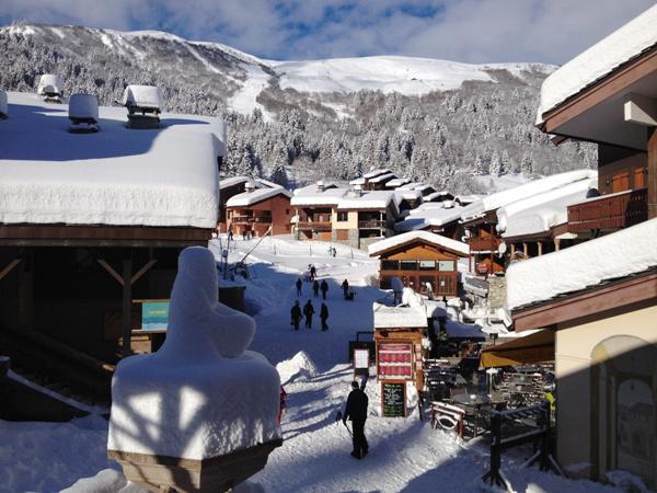 Location au ski Appartement 2 pièces 5 personnes (005) - Résidence le Morel - Valmorel