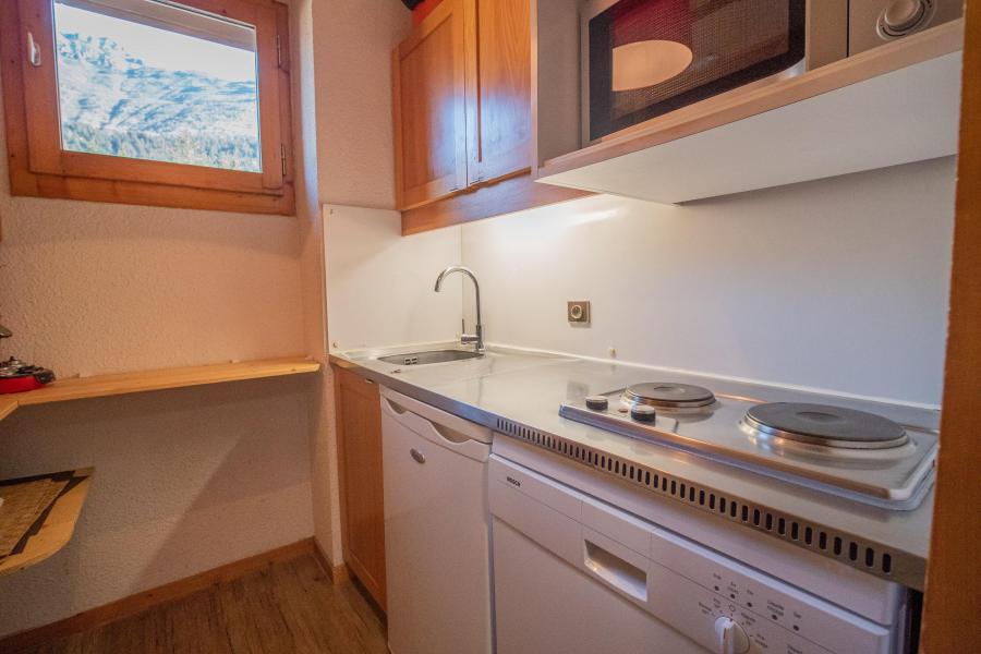 Ski verhuur Appartement 2 kamers 5 personen (025) - Résidence le Morel - Valmorel