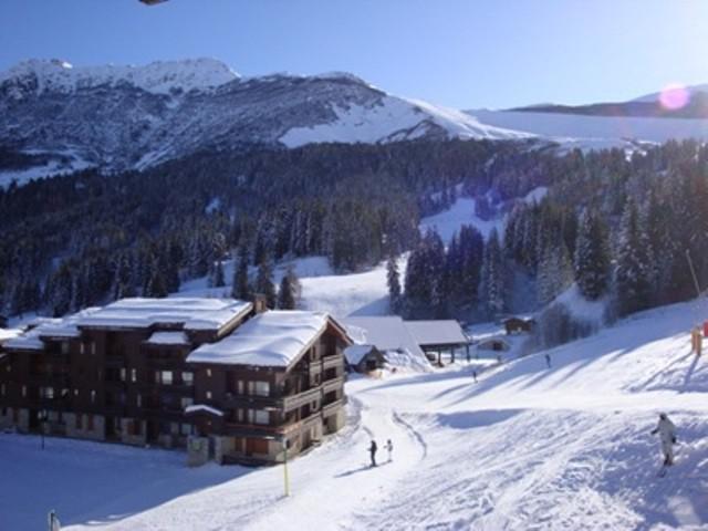 Ski verhuur Résidence le Mucillon - Valmorel - Buiten winter