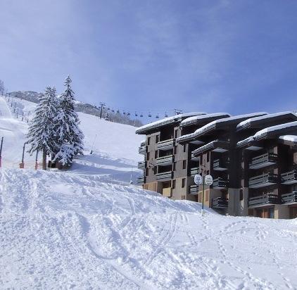 Vacances en montagne Appartement 3 pièces 6 personnes (029) - Résidence le Mucillon - Valmorel - Extérieur hiver