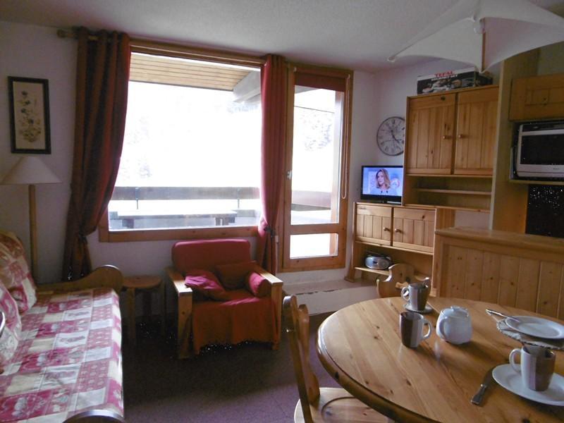 Location au ski Appartement 3 pièces 6 personnes (029) - Residence Le Mucillon - Valmorel - Canapé