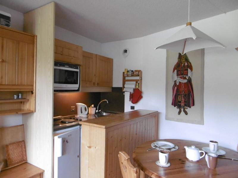 Location au ski Appartement 3 pièces 6 personnes (029) - Residence Le Mucillon - Valmorel - Kitchenette