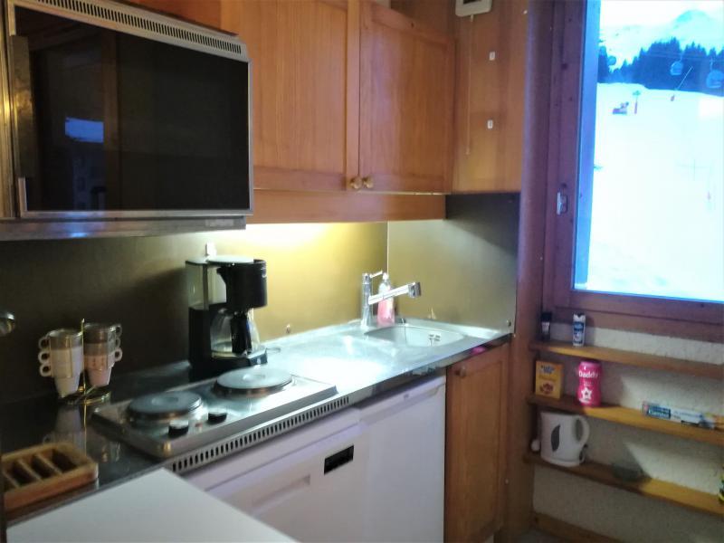 Location au ski Appartement 2 pièces 5 personnes (019) - Résidence le Pierrafort - Valmorel - Cuisine