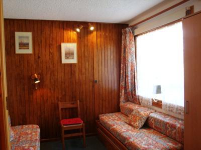 Ski verhuur Studio 3 personen (008) - Résidence le Pierrafort - Valmorel - Woonkamer