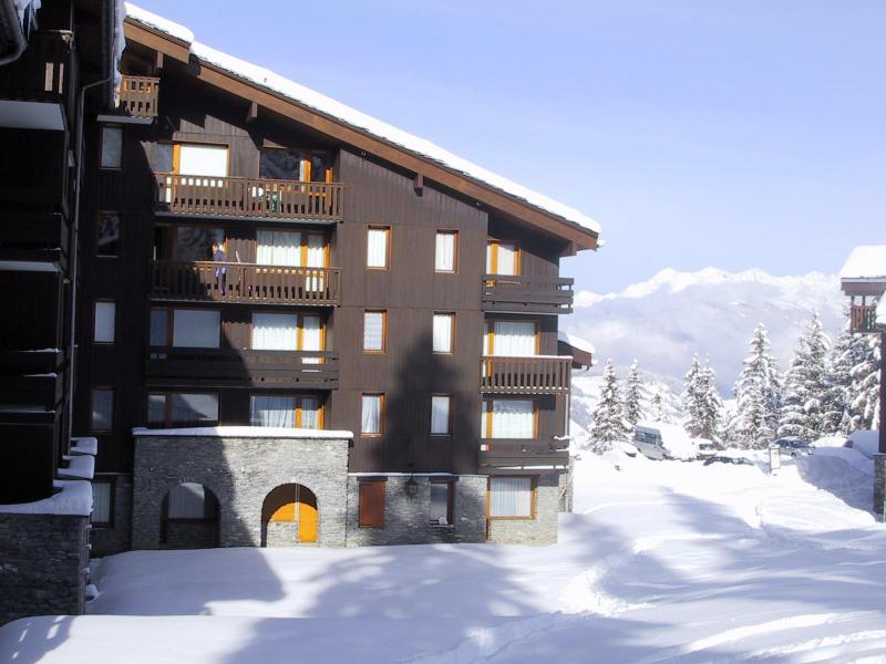 Ski verhuur Résidence le Pierrer - Valmorel - Buiten winter