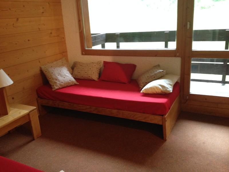 Location au ski Studio 4 personnes (035) - Residence Le Pierrer - Valmorel - Appartement