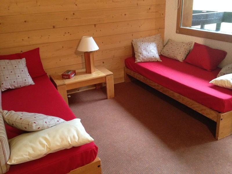 Location au ski Studio 4 personnes (035) - Residence Le Pierrer - Valmorel - Séjour