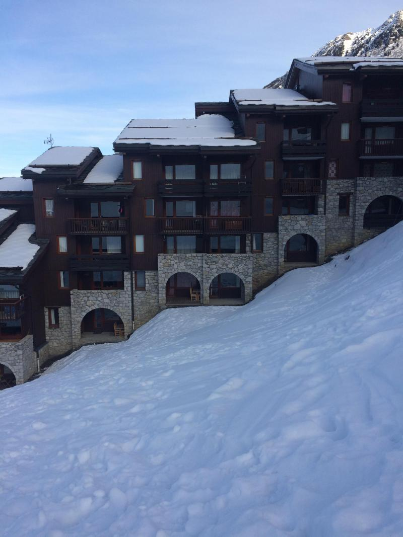 Location au ski Appartement 2 pièces 5 personnes (060) - Résidence le Portail - Valmorel - Extérieur hiver