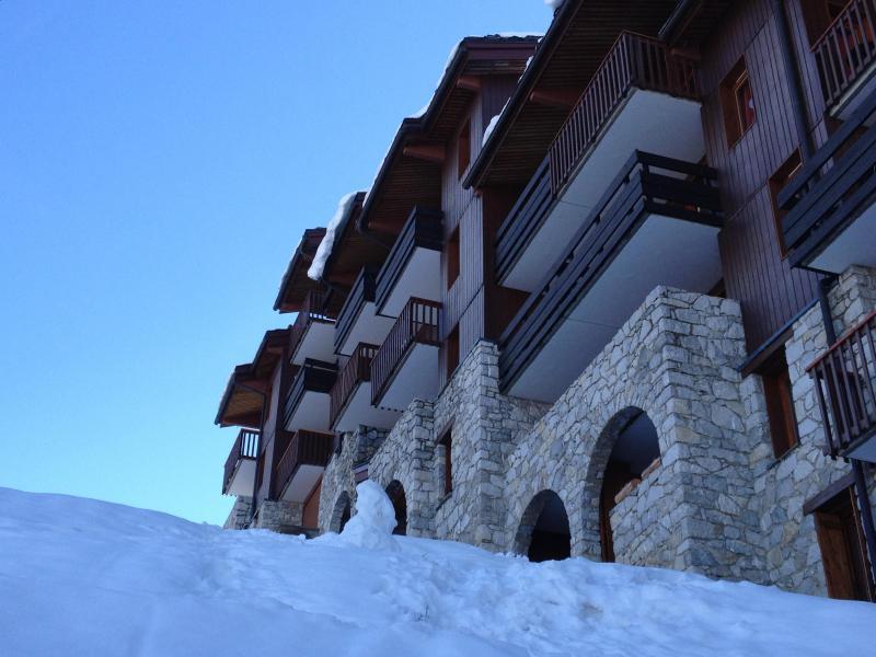 Vacances en montagne Résidence le Portail - Valmorel - Extérieur hiver