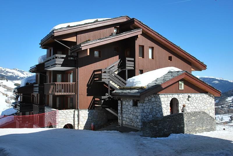 Vacances en montagne Appartement 2 pièces 4 personnes (007) - Résidence le Portail - Valmorel - Extérieur hiver
