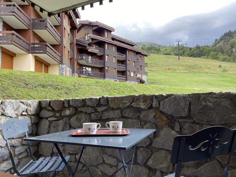 Location au ski Studio 2 personnes (051) - Résidence le Portail - Valmorel
