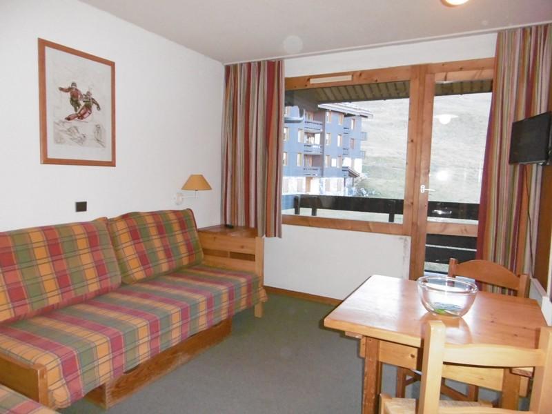Location au ski Studio 2 personnes (071) - Residence Le Portail - Valmorel - Banquette