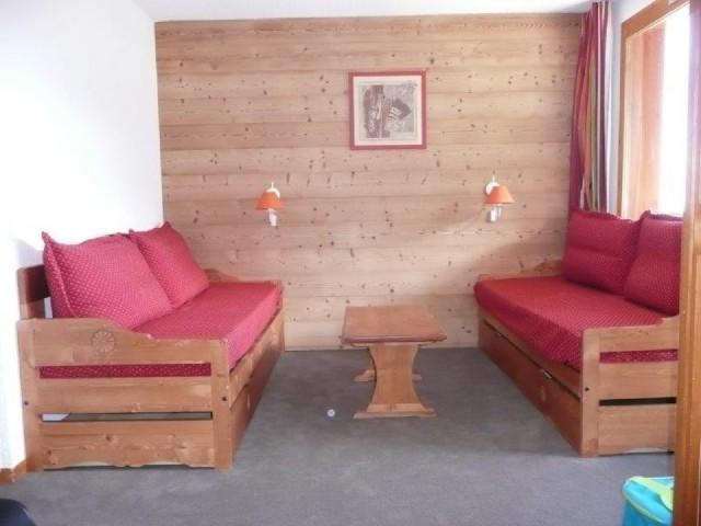 Location au ski Studio 4 personnes (279) - Résidence le Portail - Valmorel - Séjour