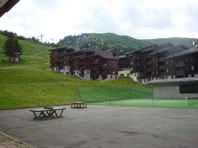 Location au ski Studio 4 personnes (001) - Résidence le Prariond - Valmorel