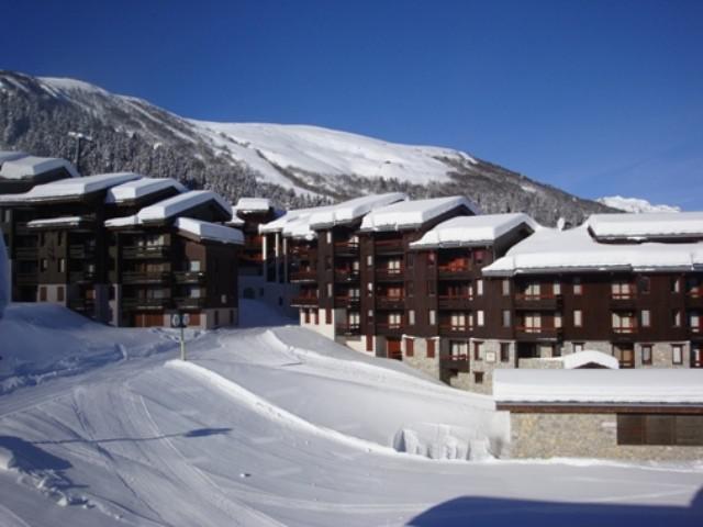 Location au ski Appartement 4 pièces 8 personnes (044) - Résidence le Prariond - Valmorel - Extérieur hiver