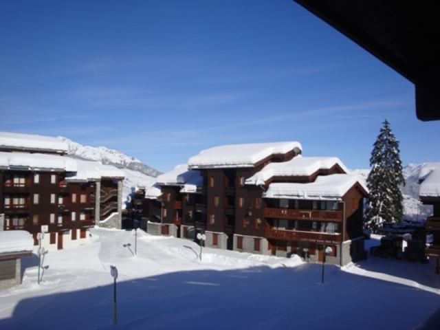 Ski verhuur Résidence le Prariond - Valmorel - Buiten winter