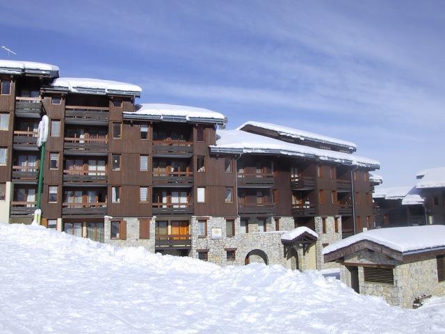 Vacances en montagne Résidence le Riondet - Valmorel - Extérieur hiver