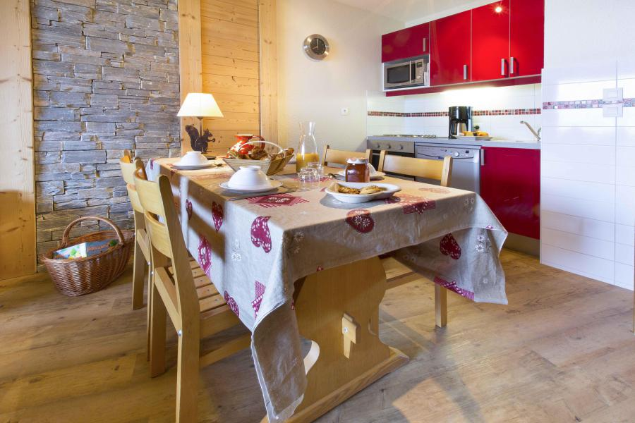 Location au ski Appartement duplex 4 pièces 8 personnes - Résidence le Sappey - Valmorel - Kitchenette