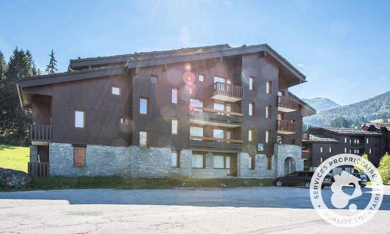 Vacances en montagne Studio 4 personnes (Sélection 28m²-4) - Résidence les Chalets de Valmorel - Maeva Home - Valmorel - Extérieur hiver