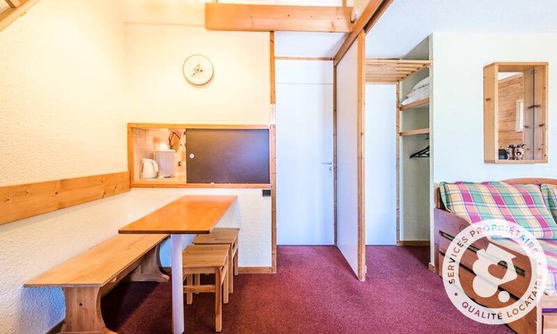Vacances en montagne Studio 4 personnes (Confort 28m²-2) - Résidence les Chalets de Valmorel - Maeva Home - Valmorel - Extérieur hiver