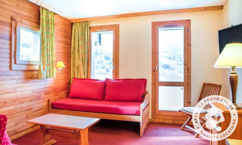 Vacances en montagne Appartement 2 pièces 5 personnes (Sélection 32m²) - Résidence les Chalets de Valmorel - Maeva Home - Valmorel - Séjour