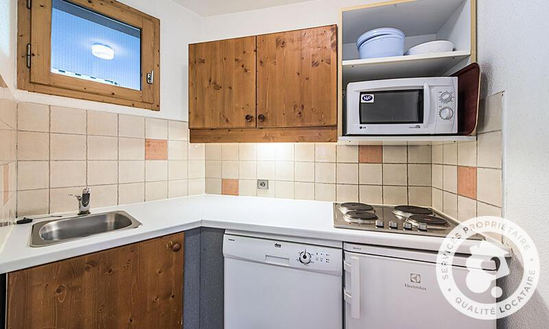 Vacances en montagne Appartement 2 pièces 5 personnes (Sélection 30m²) - Résidence les Chalets de Valmorel - Maeva Home - Valmorel - Extérieur hiver