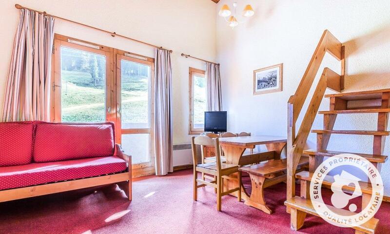 Vacances en montagne Appartement 3 pièces 8 personnes (Sélection 48m²) - Résidence les Chalets de Valmorel - Maeva Home - Valmorel - Extérieur hiver