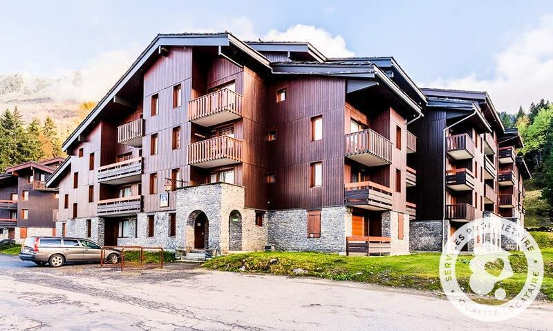 Vacances en montagne Studio 4 personnes (Sélection 28m²) - Résidence les Chalets de Valmorel - Maeva Home - Valmorel - Extérieur hiver