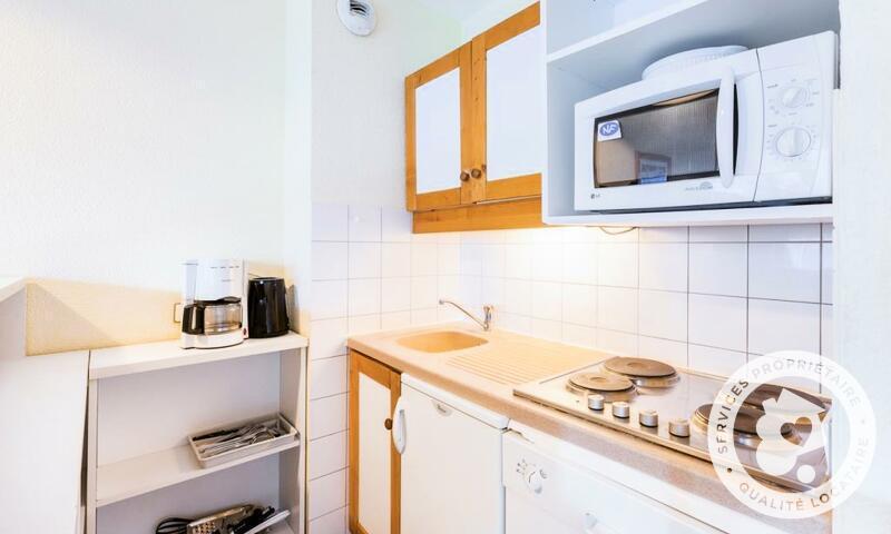 Vacances en montagne Appartement 2 pièces 6 personnes (Sélection 40m²) - Résidence les Chalets de Valmorel - Maeva Home - Valmorel - Extérieur hiver