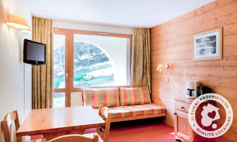 Vacances en montagne Studio 3 personnes (Confort 20m²) - Résidence les Chalets de Valmorel - Maeva Home - Valmorel - Extérieur hiver