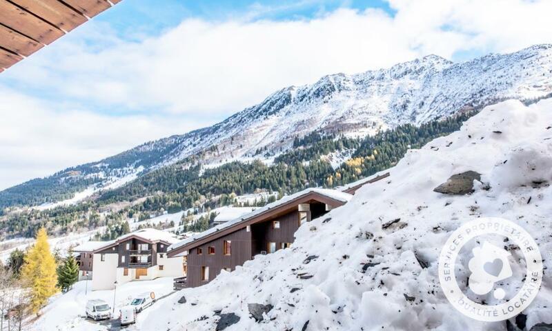 Vacances en montagne Appartement 3 pièces 8 personnes (Confort 50m²-2) - Résidence les Chalets de Valmorel - Maeva Home - Valmorel - Extérieur hiver