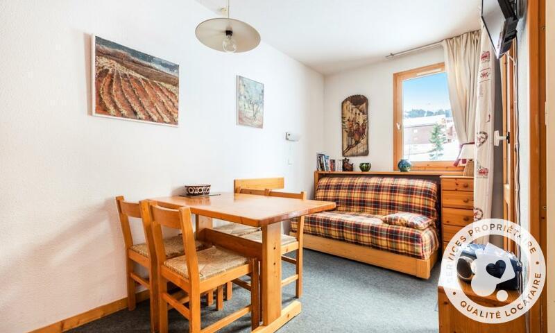 Vacances en montagne Studio 4 personnes (Confort 27m²-1) - Résidence les Chalets de Valmorel - Maeva Home - Valmorel - Extérieur hiver