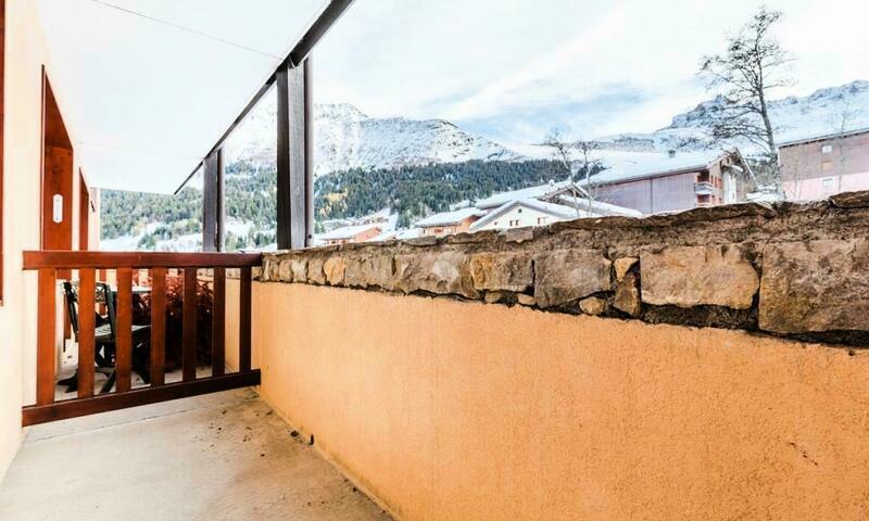 Vacances en montagne Appartement 2 pièces 5 personnes (Confort 32m²) - Résidence les Chalets de Valmorel - Maeva Home - Valmorel - Extérieur hiver