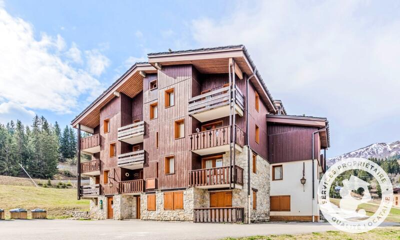 Vacances en montagne Appartement 2 pièces 6 personnes (Sélection 35m²-1) - Résidence les Chalets de Valmorel - Maeva Home - Valmorel - Extérieur hiver
