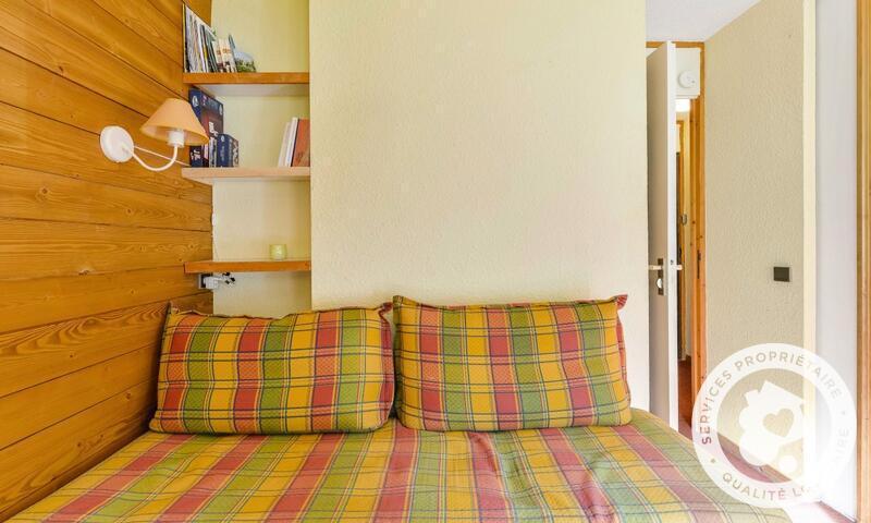 Vacances en montagne Studio 4 personnes (Sélection 28m²-1) - Résidence les Chalets de Valmorel - Maeva Home - Valmorel - Extérieur hiver