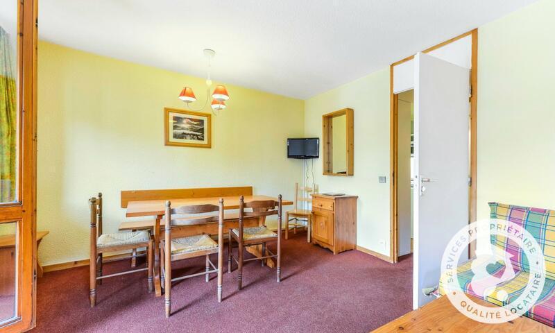 Vacances en montagne Appartement 2 pièces 5 personnes (Sélection 40m²-1) - Résidence les Chalets de Valmorel - Maeva Home - Valmorel - Extérieur hiver