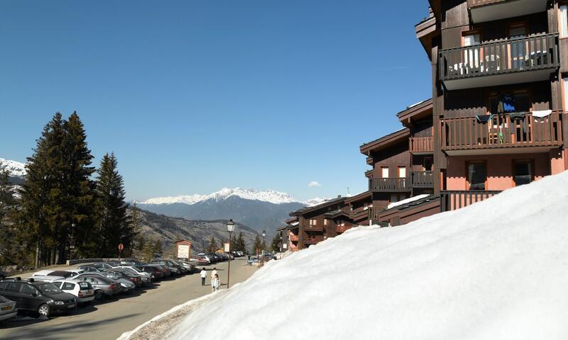 Vacances en montagne Appartement 2 pièces 4 personnes (Confort 35m²-1) - Résidence les Chalets de Valmorel - Maeva Home - Valmorel - Extérieur hiver