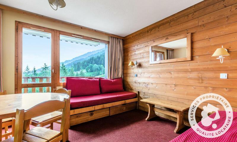 Vacances en montagne Appartement 2 pièces 4 personnes (30m²-4) - Résidence les Chalets de Valmorel - Maeva Home - Valmorel - Extérieur hiver