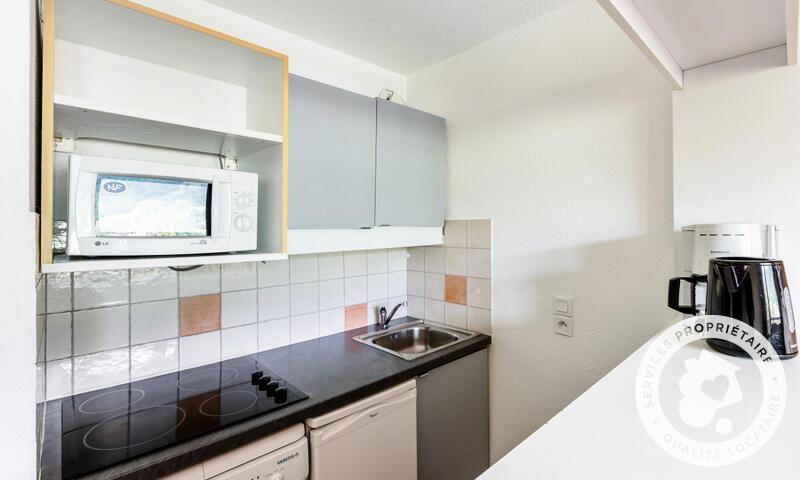 Vacances en montagne Appartement 2 pièces 5 personnes (Sélection 32m²-2) - Résidence les Chalets de Valmorel - Maeva Home - Valmorel - Extérieur hiver