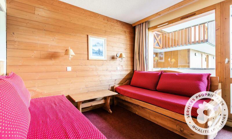 Vacances en montagne Studio 3 personnes (Sélection 22m²-1) - Résidence les Chalets de Valmorel - Maeva Home - Valmorel - Extérieur hiver