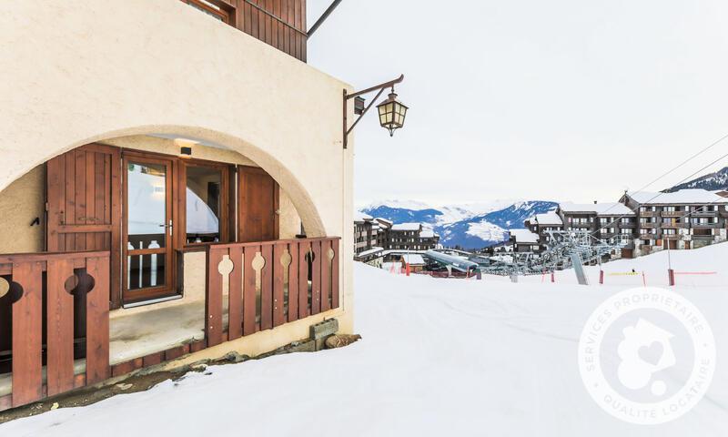 Vacances en montagne Appartement 2 pièces 6 personnes (Prestige 38m²) - Résidence les Chalets de Valmorel - Maeva Home - Valmorel - Extérieur hiver