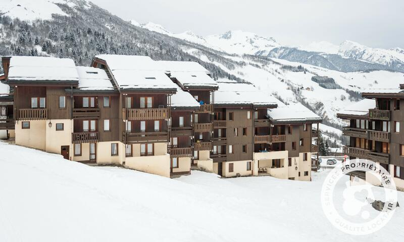 Vacances en montagne Résidence les Chalets de Valmorel - Maeva Home - Valmorel - Extérieur hiver